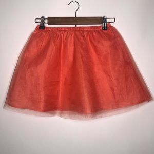 Girls mini boden petti tulle skirt